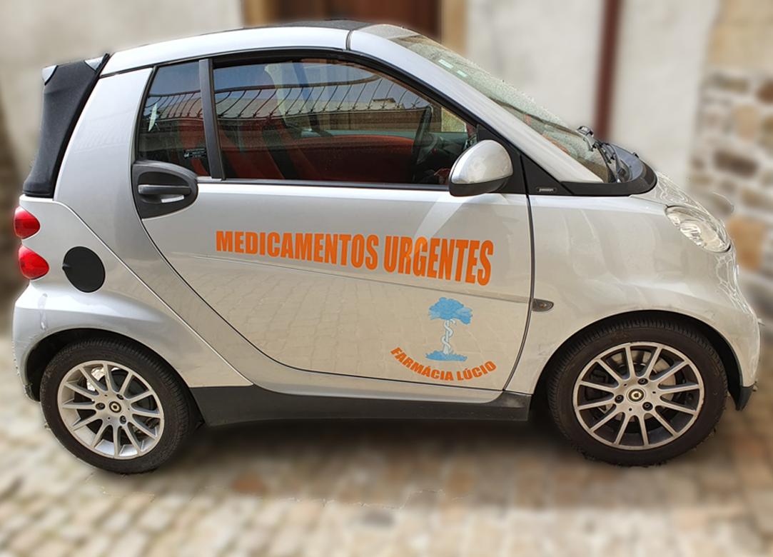 Entregas ao Domicílio - Farmácia Lúcio - Melhor Farmácia de Armamar - 100 anos a cuidar da sua saúde - Nós ajudámos a viver uma vida saudável! - Arnaldo Lúcio - WebDesign